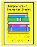 Comprehension Evaluation Stories
