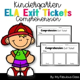 Comprehension Exit Tickets