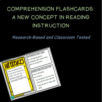 Comprehension Facts Flashcards:  Inference