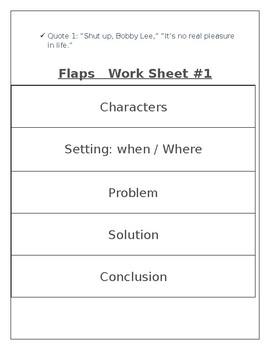 Comprehension Flap-Ables