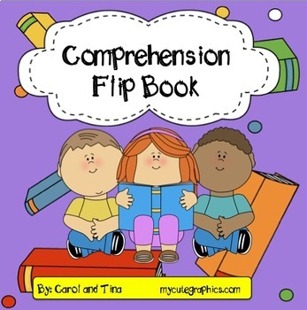 Comprehension Flip Book- Story Questions for Fiction and N