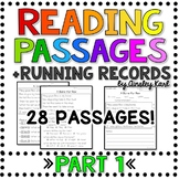 Comprehension & Fluency Passages - Beginning Readers + Running Records - PART 1