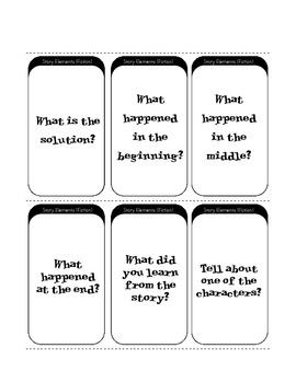 Comprehension Game: Fan 'n Pick