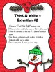 Comprehension Game ~ That's NOT Right ~ Christmas Edition ~ Writing Extensions