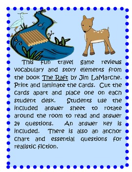Comprehension Game for The Raft