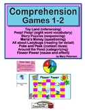 Comprehension Games 1-2