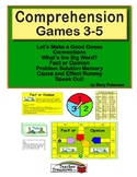 Comprehension Games 3-5