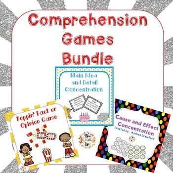 Comprehension Games Bundle