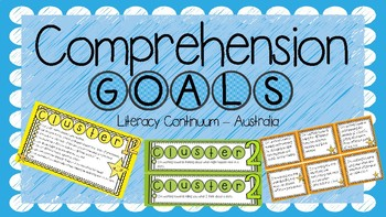 Comprehension Goals - Aligned with the Australian Continuum Version 2