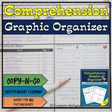 Reading Comprehension Graphic Organizer- Fits ANY Fiction Book