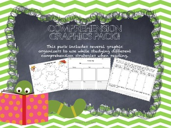 Comprehension Graphic Organizer Pack