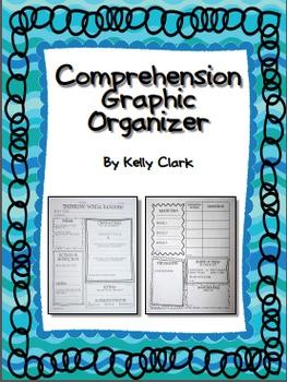 Comprehension Graphic Organizer for Upper Elementary {Aligned to CC ELA grade 4}
