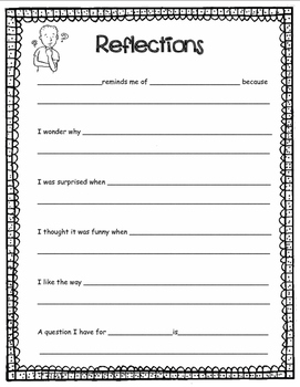 Comprehension Graphic Organizers and Response Sheets Collection