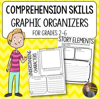 Comprehension Graphic Organizers for ANY Book: GROWING Bun