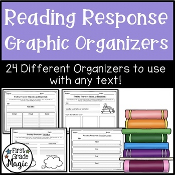 Comprehension Graphic Organizers for Reading Response