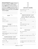 Comprehension Guide (8th Grade Poetry) - Common Core Aligned