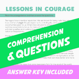 Comprehension - Lessons in Courage (Malala Yousafzai)