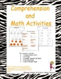 Comprehension & Math Activities Using It's Pumpkin Day, Mouse!