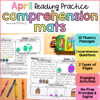 Reading Comprehension Passages for April  | Distance Learning
