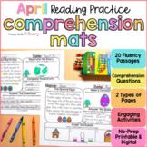 April Reading Comprehension Passages | Printable & Digital