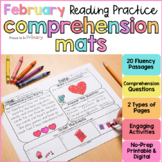 February Reading Comprehension Passages   Printable+Digital   Distance Learning