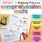 January Reading Comprehension Passages | Printable & Digital | Distance Learning