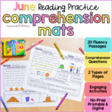 End of the Year Reading Comprehension Review Passages   Pr