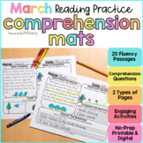 March Reading Comprehension Passages | Printable & Digital