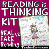 Comprehension ~ Metacognition ~ Reading is THINKING ~ Good Readers