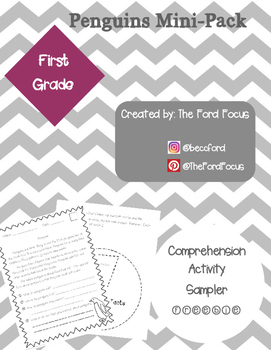 Comprehension Mini-Pack--Penguins  {FREEBIE}