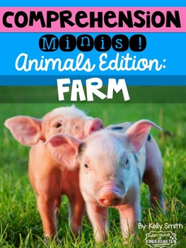 Farm Animals Nonfiction Reading Passages