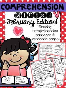 February Reading Passages {Comprehension Minis}
