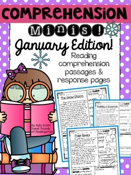 January Reading Passages {Comprehension Minis}