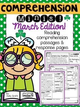 March Reading Passages {Comprehension Minis}