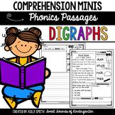 Phonics Reading Passages- Digraphs {Comprehension Minis}