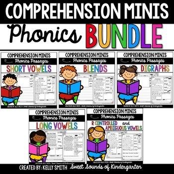 Reading Comprehension Passages {Phonics Growing Bundle}