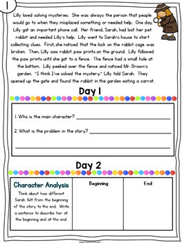 Comprehension Notebook {2nd Grade Edition} - Distance Learning
