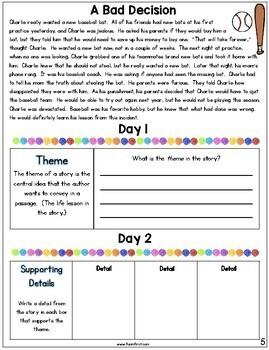 Comprehension Notebook {3rd Grade Edition}