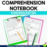Reading Comprehension Notebook Kindergarten - Distance Learning