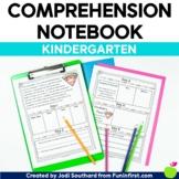 Reading Comprehension Notebook Kindergarten - Google Slide