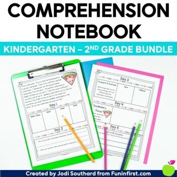 Comprehension Notebook {The K, 1, 2 Bundle}
