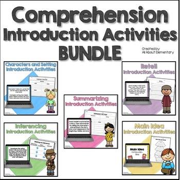 Comprehension Skills Practice {5 Packs Bundled Together}