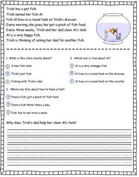 Comprehension Pack