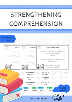 Comprehension Pack #2: Reading for meaning