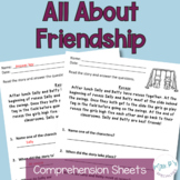 Comprehension Pack: All about friendship