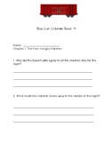 Comprehension Packet Boxcar Children Book 1