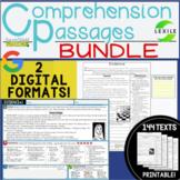 Digital Comprehension Passages: BUNDLE!   2 DIGITAL & PRIN
