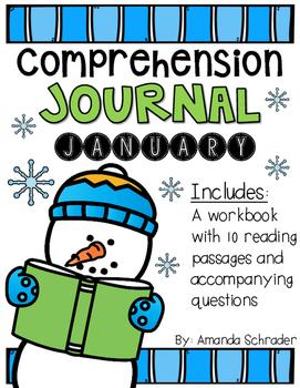 Comprehension Passages: January Journal Common Core Aligne