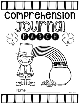 Comprehension Passages: March Journal Common Core Aligned (No Prep)