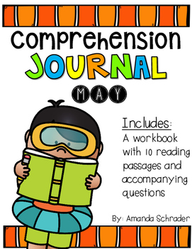 Comprehension Passages: May Journal Common Core Aligned (No Prep)